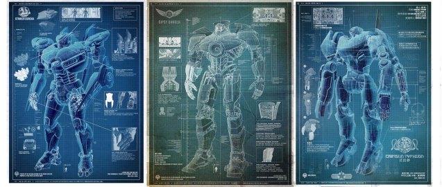 Jaegers varios blueprint
