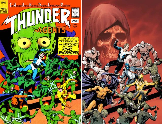 ThunderAgents clasicos gary frank cover