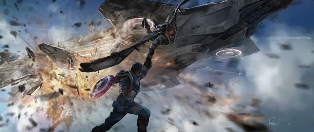 capitan america y falcon